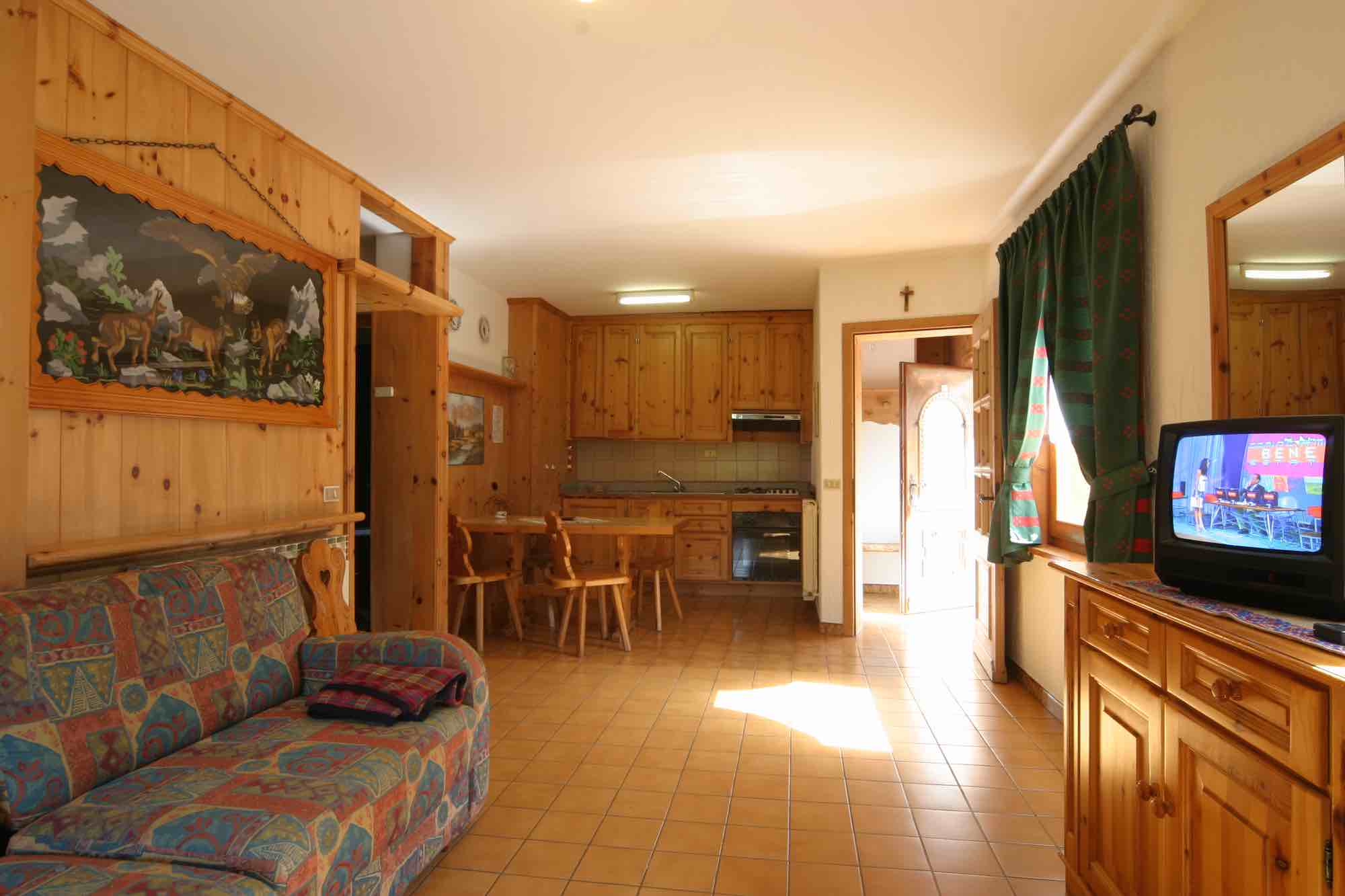 Bait da Borch - Via Saroch N.1430/f, Livigno 23041 - Apartment - Appartamento Eira 1
