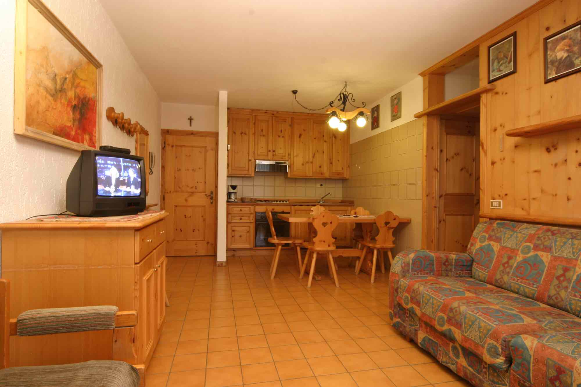 Bait da Borch - Via Saroch N.1430/f, Livigno 23041 - Apartment - Appartamento Federia 1